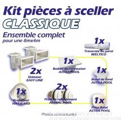 Kit CLASSIQUE de pièces à sceller complet