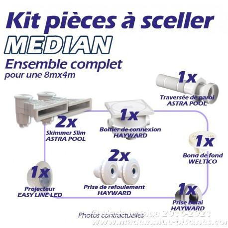 Kit MEDIAN de pièces à sceller complet