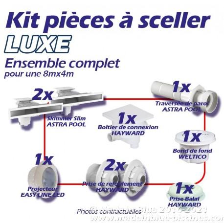 Kit LUXE de pièces à sceller complet