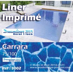 Liner Imprimé pour piscine 22 motifs Made In Blue piscines