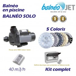 Nage contre courant made in blue piscines for Kit balneo piscine