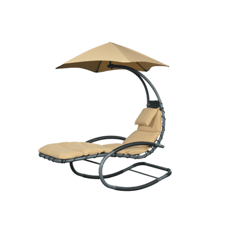 Chaise longue nest swing