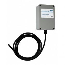 Télécommande + boîtier courant porteur pour piloter et synchroniser jusqu'à 4 lampes de couleur