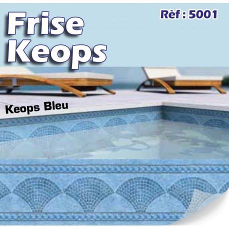 Frises de piscine Bandeaux de piscines et Personnalisation Made In blue