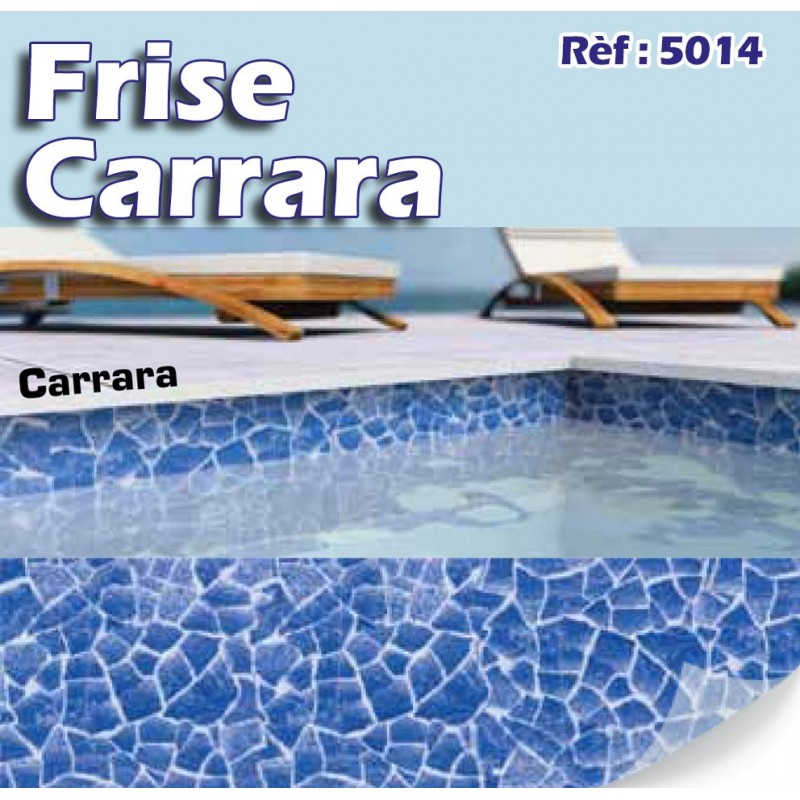Frises bandeaux et personnalisation made in blue piscines for Frise piscine liner