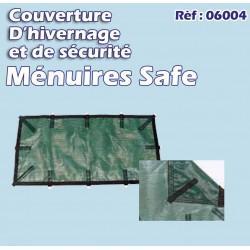 Couverture d'hivernage et de sécurité filtrante MENUIRES SAFE