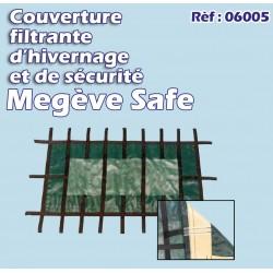 Couverture d'hivernage et de sécurité MEGEVE SAFE