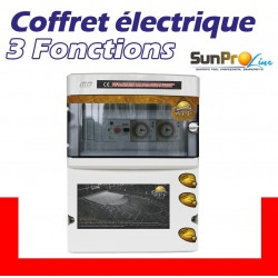 Coffret électrique 3 Fonctions