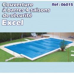 Couverture à barre de sécurité pool excel