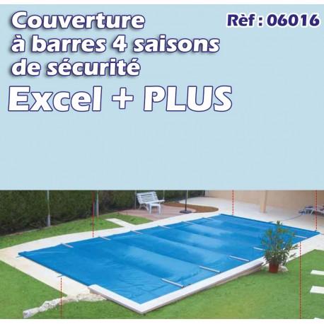 Couverture à barre de sécurité pool excel plus