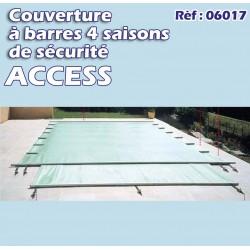 Couverture à barre de sécurité pool access