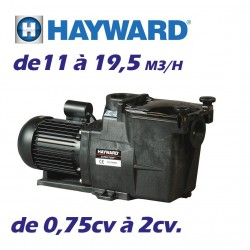 Pompe de filtration HAYWARD Série SUPER PUMP