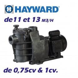 Pompe de filtration HAYWARD MAX Flo 0.5cv 8m3/h