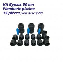 kit Bypass 50mn 15pièces pour pompe à chaleur