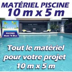 Promo Piscine 10mx5m - Que le matériel