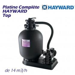 Platine complète de filtration HAYWARD 14m3/h