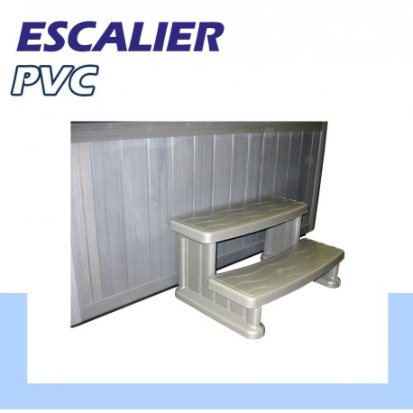 escalier pvc 1er prix pour piscine. Black Bedroom Furniture Sets. Home Design Ideas