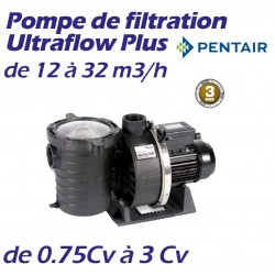 Pompe de filtration PENTAIR Ultraflow Plus