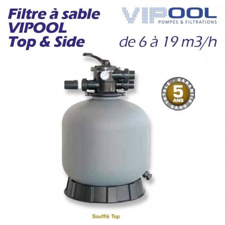 Filtre à sable VIPOOL Top & Side