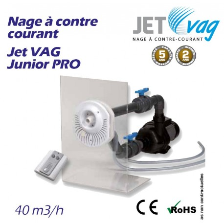Nage à contre courant JET VAG Junior PRO 40m3