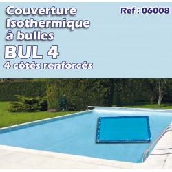 Couverture isothermique à bulles BUL4 - 4 côtés renforcés