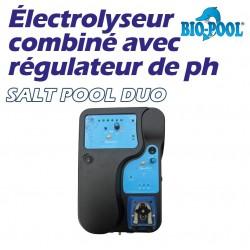 Électrolyseurs-pompes doseuses SALT POOL DUO BIOPPOL
