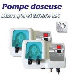 Pompes doseuses PURE MICRO pH et MICRO Rx