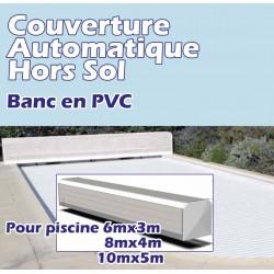 Couverture Hors Sol Automatique avec fin de course BANC PVC