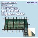 Couvertures filtrantes et de sécurité
