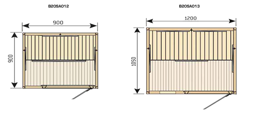 Schéma sauna infrarouge radiant