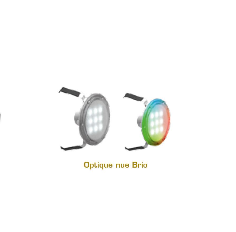 optique projecteur Brio Nova inox